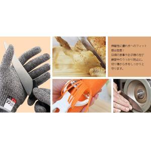 防刃 手袋 左右 セット 切れない 軍手 耐刃 防刃グローブ 作業用 DIY 大工 安全 刃物 調理 BBQ S|ysmya|06