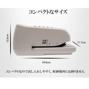 電子チェックライター 15桁 重複印字 演算機能 省電力 奥行 最大 80mm 小切手 手形 事務用品 文房具 約束手形 領収書 領収証 TOKAI|ysmya|13