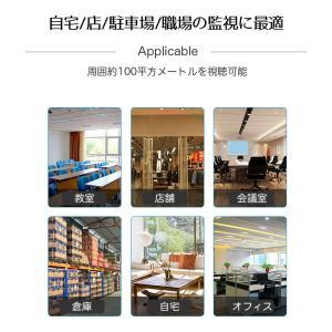 監視カメラ 防犯カメラ 日本語APP 1年保証 室内 ワイヤレス WiFi 無線 家庭用 介護 小型 録画 長時間 人感センサー 動体検知 スマホ操作 フルHD ysmya 13