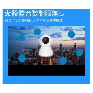 監視カメラ 防犯カメラ 日本語APP 1年保証 室内 ワイヤレス WiFi 無線 家庭用 介護 小型 録画 長時間 人感センサー 動体検知 スマホ操作 フルHD ysmya 16