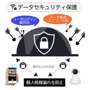 監視カメラ 防犯カメラ 日本語APP 1年保証 室内 ワイヤレス WiFi 無線 家庭用 介護 小型 録画 長時間 人感センサー 動体検知 スマホ操作 フルHD ysmya 09
