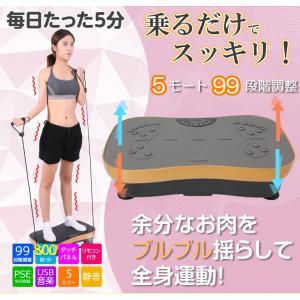 シェイカー式 振動マシン 1分間800回 振動99段階 静音 ダイエット 効果的 ブルブル振動マシン 5モード ゴムハント付き PSE認証 日本語説明書 TOKAI 公式販売|ysmya|02