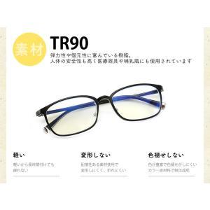 5点セット ブルーライトカットメガネ 在宅ワーク テレワーク 在宅勤務 PCメガネ ブルーライトカット率最大92% UVカット率最大96% JIS検査済|ysmya|04