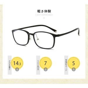 5点セット ブルーライトカットメガネ 在宅ワーク テレワーク 在宅勤務 PCメガネ ブルーライトカット率最大92% UVカット率最大96% JIS検査済|ysmya|06