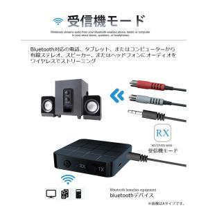 bluetooth トランスミッター 5.0 switch対応 ブルートゥース 送信機 受信機 レシーバー イヤホン テレビ 光 TX RX 送受信両対応 高音質|ysmya|08