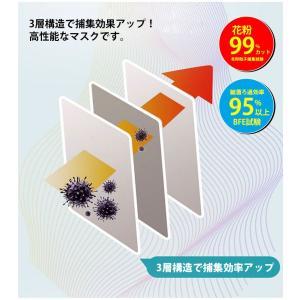 在庫処分 マスク 60枚入り 使い捨て 日本国内発送 三層構造 不織布 男女兼用 ウイルス 防塵 花粉 飛沫対策|ysmya|04