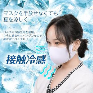 6枚セット 冷感マスク 日本製コーティング 大きめ 子供用 小さめ 洗える 夏用 秋用 接触冷感マスク  涼感 涼しい ひんやり ウイルス 防塵 花粉 飛沫対策|ysmya|05