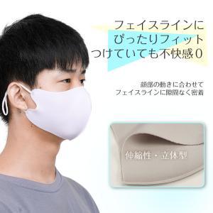 6枚セット 冷感マスク 日本製コーティング 大きめ 子供用 小さめ 洗える 夏用 秋用 接触冷感マスク  涼感 涼しい ひんやり ウイルス 防塵 花粉 飛沫対策|ysmya|08