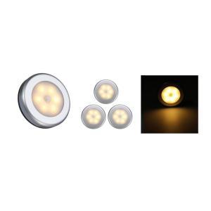 3個セット センサーライト 人感ライト LED ライト 室内 屋内 電池式 クローゼット 廊下 階段 自動点灯 送料無料|ysmya|18