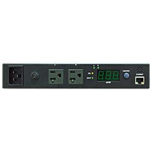 DIGI Power PDU IP経由リモート電源管理 スイッチ機能付 1U PDU 2ポート SWH-1511A-02N1|ysol