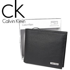 CK  カルバンクライン  二つ折り財布  79215 ブラック  メンズ Calvin Klein|ysy