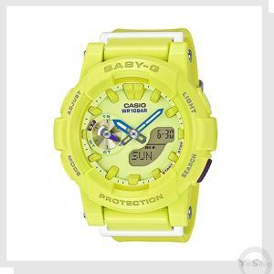 送料無料 【CASIO】 カシオ Baby-G ベビーG 腕時計  BA-185-9A イエローグリーン|ysy