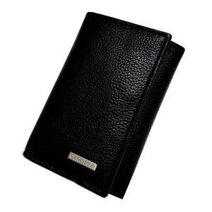 Calvin Klein カルバンクライン 6連 レザー キーケース 79216 BK ブラック CK メンズ |ysy