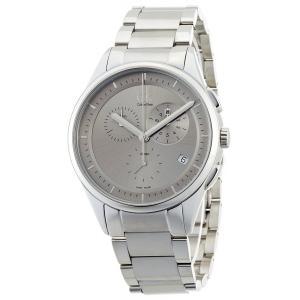 カルバンクライン CK Calvin Klein 腕時計 K2A27126 メンズクロノ ベーシック 並行輸入品|ysy