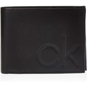 CK カルバンクライン Calvin Klein CK 二つ折り 財布 小銭入れ K50K504833BDS UP 5CC COIN メンズ BLACK 黒|ysy
