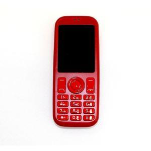 スマホ子機 Bluetooth接続 mini R phone 2 FMラジオ 音楽 動画 再生 多機能 接続マーク取得済 レッド|ysy