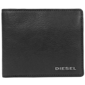 DIESEL ディーゼル 二つ折り財布 X03925-PR271 T8013 ブラック 並行輸入|ysy