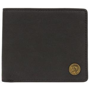 DIESEL ディーゼル 二つ折り財布 X04373 PR013 T8013 ブラック 並行輸入|ysy