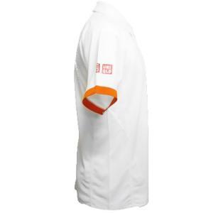 最安値挑戦中 ネコポス不可 ジョコビッチファウンデーション限定 ユニクロ(UNIQLO) 2015全仏オープン着用モデル ポロシャツ ホワイト ytennis-shop 03