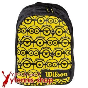ウイルソン(Wilson) ジュニア用 ミニオン テニスバックパック ラケットバッグ WR8014001|ytennis-shop
