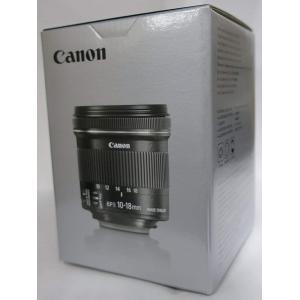 Canon 超広角ズームレンズ EF-S10-18mm F4.5-5.6 IS STM APS-C対...