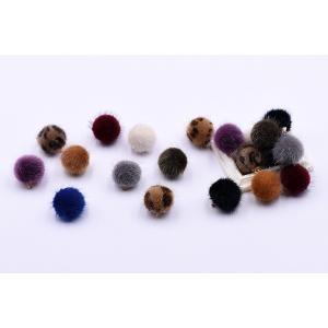 ファーボールチャーム 15×17mm 金属チャーム【10ヶ】|yu-beads-parts|04