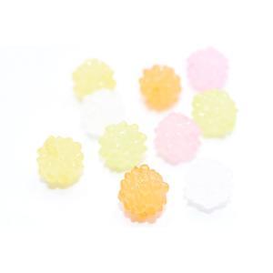 アクリルビーズ ボール 12mm シャーベット【20ヶ】|yu-beads-parts|04