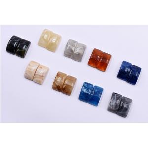 高品質デコパーツ 樹脂パーツ カーブ長方形 10×19mm【15ヶ】 yu-beads-parts 04