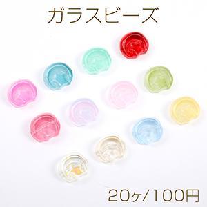 スクラブガラスビーズ キューブカット カラーMIX 2×2mm【50ヶ】|yu-beads-parts