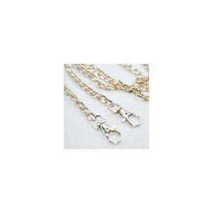 チェーンショルダー持ち手3 ゴールド 120cm yu-beads-parts