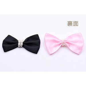 リボンモチーフNo.12 パール付き ハンドメイド用【20ヶ】|yu-beads-parts|04
