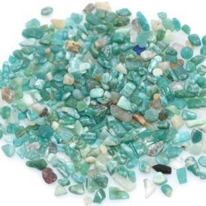 天然石さざれチップ 穴なしさざれチップ インポートアマゾン 5-7mm(50g)|yu-beads-parts