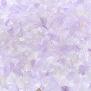 天然石さざれチップ 穴なしさざれチップ パープルジェイド 5-7mm(50g)|yu-beads-parts