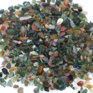 天然石さざれチップ 穴なしさざれチップ インド瑪瑙 5-7mm(50g)|yu-beads-parts
