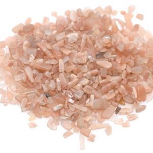 天然石さざれチップ 穴なしさざれチップ ムーンストーン 5-7mm(50g)|yu-beads-parts