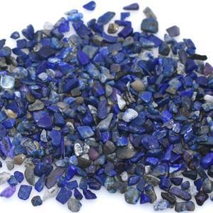 天然石さざれチップ 穴なしさざれチップ ラピスラズリ 5-7mm(50g)|yu-beads-parts
