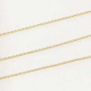 小豆チェーン 0.5mm ゴールド|yu-beads-parts