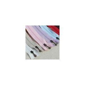 ナイロンジッパー 15cm 単色/1ヶ入り|yu-beads-parts