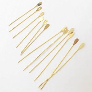 フリンジピン ドロップ(15ヶ)|yu-beads-parts