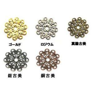 透かしパーツ 丸3 yu-beads-parts