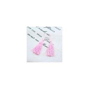 輪房 ピンク 全長約11cm (5ヶ)|yu-beads-parts