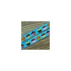 1ケーキのチロルテープ 幅16mm ブルー(10ヤード) yu-beads-parts