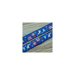 1クリスマスモチーフのチロルテープ 幅16mm ネイビー(10ヤード) yu-beads-parts