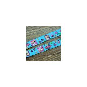 15動物のチロルテープ 幅16mm ブルー(10ヤード)|yu-beads-parts