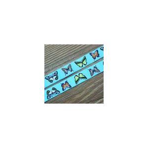 16動物のチロルテープ 幅16mm ブルー(10ヤード)|yu-beads-parts