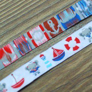 17動物のチロルテープ 幅16mm ホワイト(10ヤード)|yu-beads-parts|03