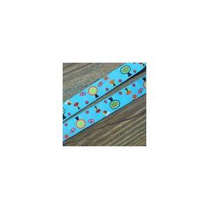 19動物のチロルテープ 幅16mm ブルー(10ヤード)|yu-beads-parts