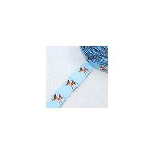 4動物のチロルテープ 幅17mm ライトブルー(5ヤード)|yu-beads-parts