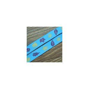 1葉のチロルテープ 幅16mm ブルー(10ヤード)|yu-beads-parts
