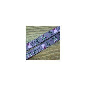 4人物のチロルテープ 幅16mm パープル(10ヤード)|yu-beads-parts